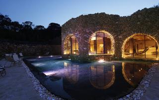 Cerreta Thermal baths in Tuscany