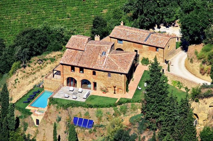 Villa in Santo in Tuscany