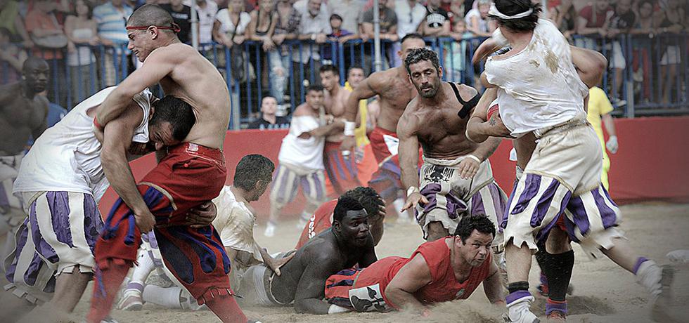 Historical football Florence