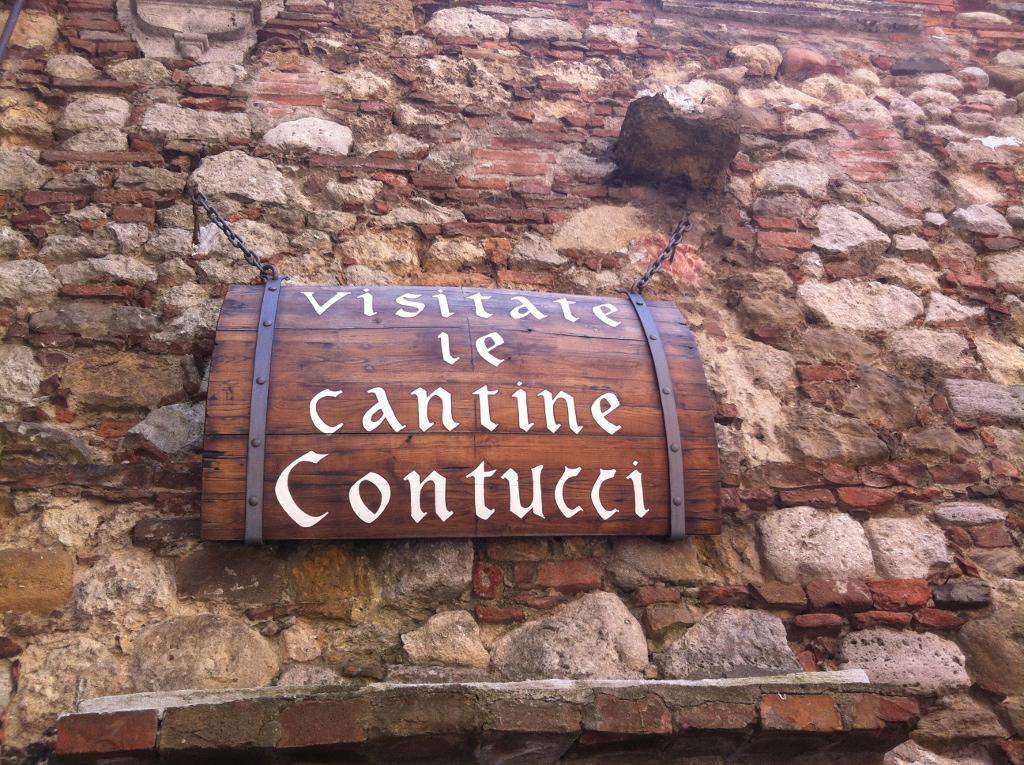 Montepulciano underground wine cellars
