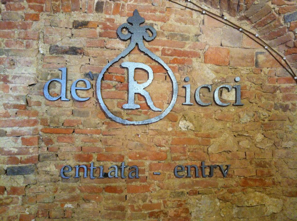 Montepulciano underground wine cellars De Ricci cantine in Montepulciano