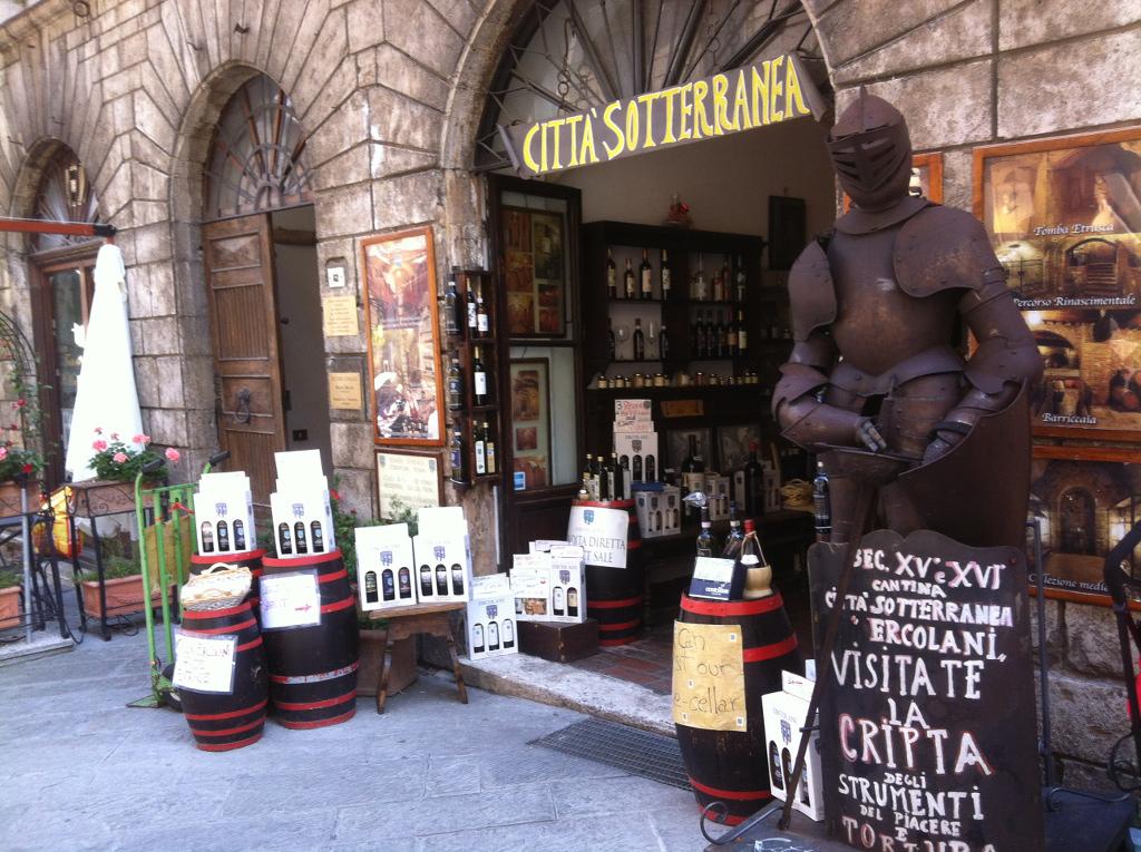 Montepulciano Underground wine cellars Città sotterranea