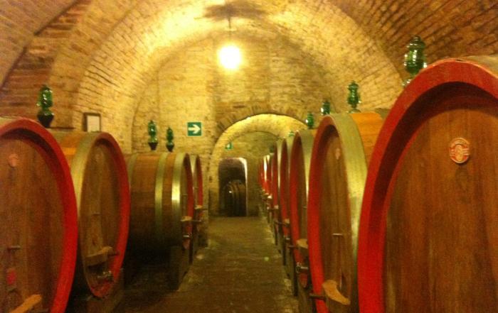 Montepulciano underground winecellars