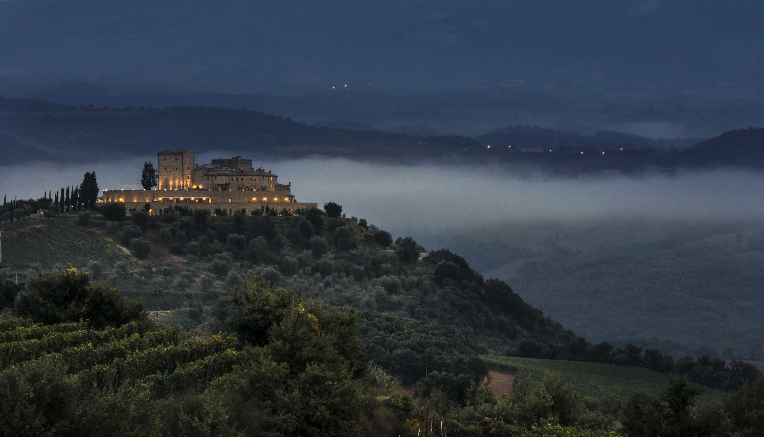Amazing castle in Montalcino Tuscany