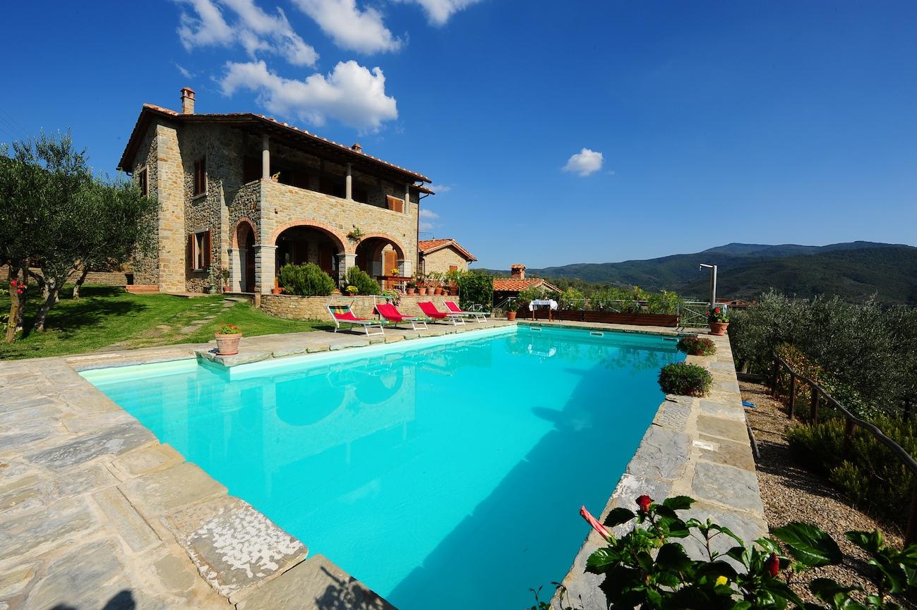 Villa Castelfiorentino Arezzo