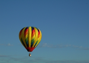 Hot ballon rides in Tuscany