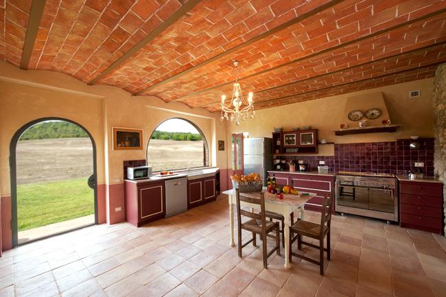 villa gotti, pisa - olive in tuscany - Toskana Küche