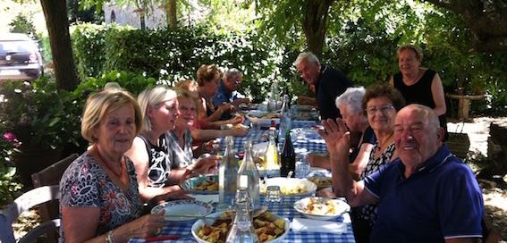 Ferragosto summer celebration